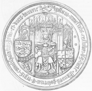 Christoffer af Bayern var konge af Danmark fra 1440-1448, af Sverige 1441-1448 og af Norge fra 1442-1448. Foto: Wikimedia Commons.