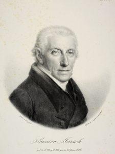 ) Martin Johan Jenisch (1760-1827) overtog Kalø i 1825 efter gentagne mislykkede forsøg på at afhænde herregården på auktion. Herregården blev et skattet for Jenisch-familien, der beholdt den indtil Anden Verdenskrig