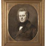 Andreas Evald Meinert Tang var i årene 1821-23 landvæsenselev i Holsten, der dengang var foregangsland inden for både landbrug og industri. I 1824 overtog han sammen med sine to brødre Nørre Vosborg, som han derefter stod for driften af. 1. maj 1825 købte han sine brødre ud og blev eneejer af godset. Portrættet af A.E.M. Tang er fra 1855 og hænger på Nørre Vosborg.